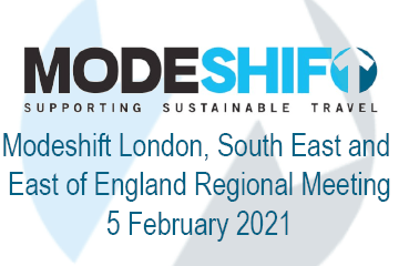 Modeshift London, South East and East of England Regional Meeting