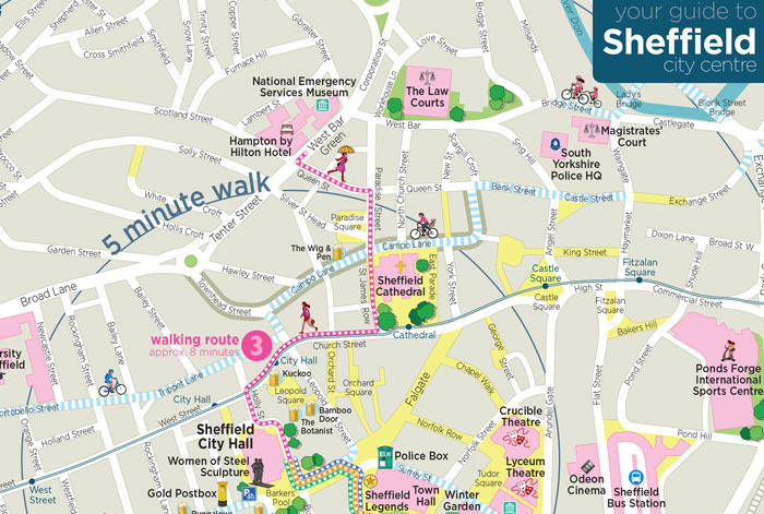 Guide to Sheffield city centre