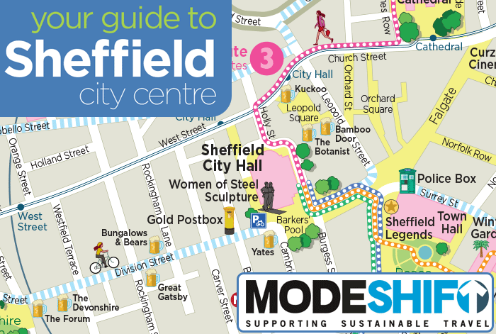 Modeshift 2018 Convention Map