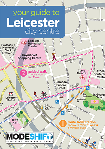 'Your Guide to Leicester' For Modeshift's 2019 Convention