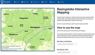 Basingstoke Map