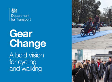 DfT announces a bold vision for cycling and walking