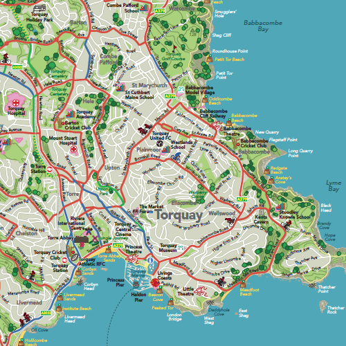Sample Site Map: Specialist In Catalogue Production, Cartography
