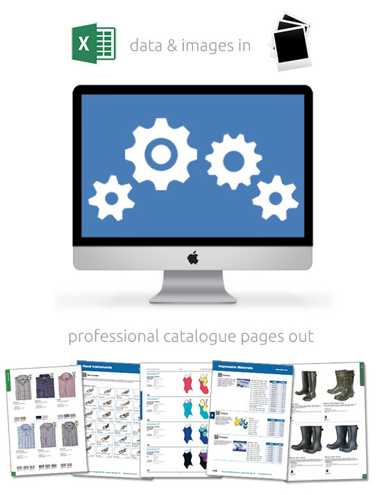 Catalogue Production from Excel